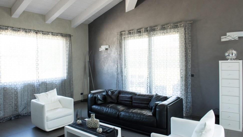 Casa in legno x-lam Cherasco Cuneo localita Picchi - interno 01