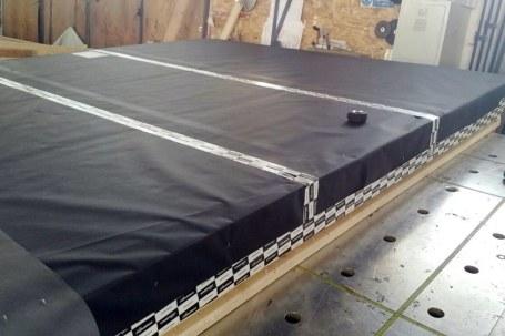 Preassemblaggio pareti legno xlam con cappotto isolante 02 - Mozzone Building System
