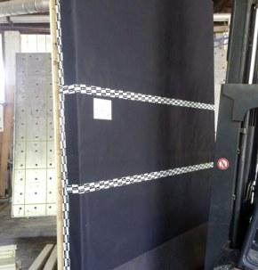 Preassemblaggio pareti legno xlam con cappotto isolante 03 - Mozzone Building System