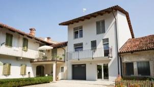 Ristrutturazione casa legno xlam Casaclima A - 02 - facciata interna - Mozzone Building System