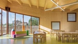 Scuola antisismica costruzione legno xlam Siena Toscana 05 - Mozzone Building System