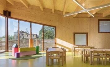Scuola antisismica legno xlam Toscana