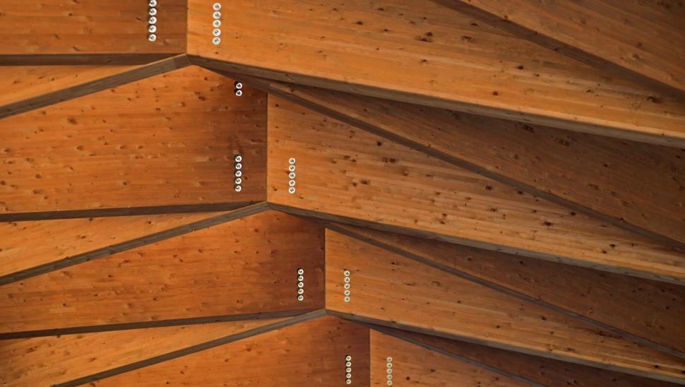 Copertura in legno lamellare cantine-Ceretto-03 - Mozzone Building System