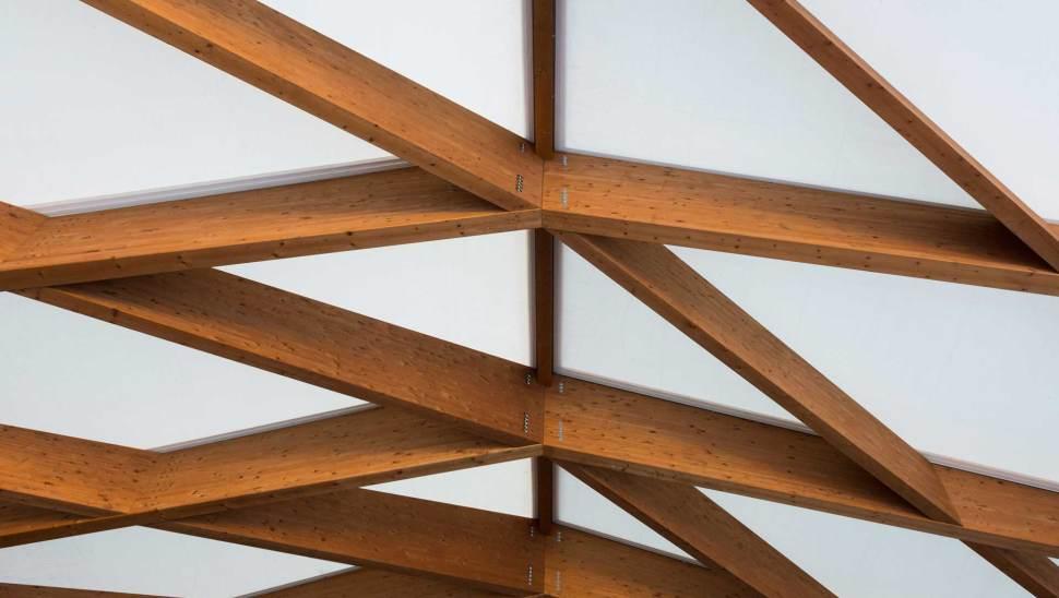 Copertura in legno lamellare cantine-Ceretto-07 - Mozzone Building System