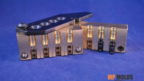 MP 314-640 115GN 4 cavity brass mold