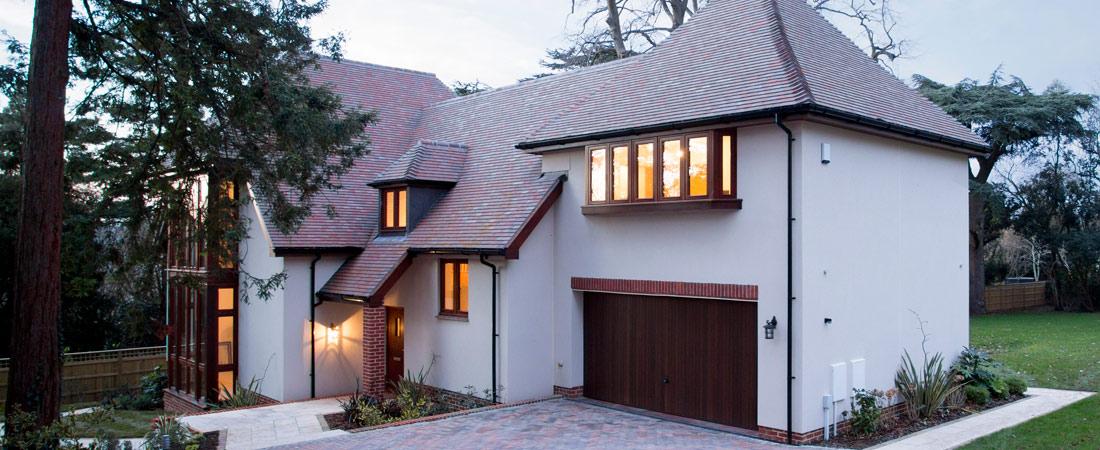 Light Beige Colour Rendering for modern house