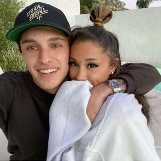 Ariana Grande marries Fiancee, Dalton Gomez in private ceremony »