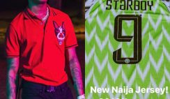 Wizkid Fanbase 'Wizkid FC' Is the first Fa Base In Africa With Its Own Jersey
