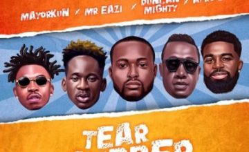 Dj Neptune – Tear Rubber (All Star Remix) ft. Mayorkun, Mr Eazi, Duncan Mighty & Afro B