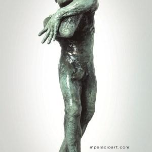 nude male bronze