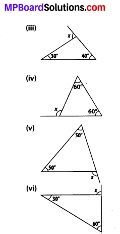 MP Board Class 7th Maths Solutions Chapter 6 The Triangles and Its Properties Ex 6.2 2