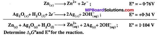 MP Board Class 12th Chemistry Solutions Chapter 3 Electrochemistry 23
