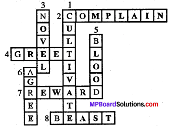 MP Board Class 7th Special English Chapter 13 Words, Words, Words 3