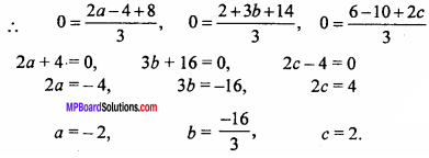 MP Board Class 11th Maths Important Questions Chapter 12 Introduction to Three Dimensional Geometry 11