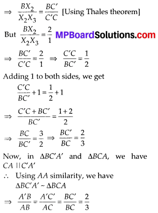 MP Board Class 10th Maths Solutions Chapter 11 Constructions Ex 11.1 3
