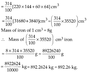 MP Board Class 10th Maths Solutions Chapter 13 Surface Areas and Volumes Ex 13.2 11