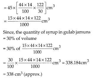 MP Board Class 10th Maths Solutions Chapter 13 Surface Areas and Volumes Ex 13.2 7