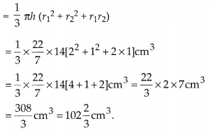 MP Board Class 10th Maths Solutions Chapter 13 Surface Areas and Volumes Ex 13.4 2