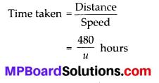 MP Board Class 10th Maths Solutions Chapter 4 Quadratic Equations Ex 4.1 1