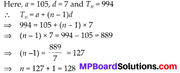 MP Board Class 10th Maths Solutions Chapter 5 Arithmetic Progressions Ex 5.2 18