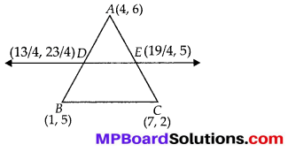MP Board Class 10th Maths Solutions Chapter 7 Coordinate Geometry Ex 7.4 4