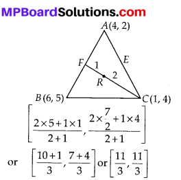 MP Board Class 10th Maths Solutions Chapter 7 Coordinate Geometry Ex 7.4 9