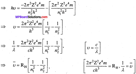 MP Board Class 11th Chemistry Solutions Chapter 2 परमाणु की संरचना - 49