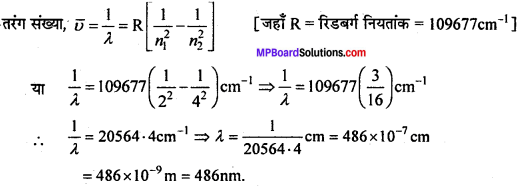 MP Board Class 11th Chemistry Solutions Chapter 2 परमाणु की संरचना - 8