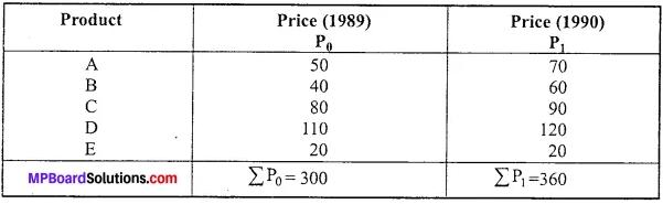 MP Board Class 11th Economics Important Questions Unit 3 Statistical Tools and Interpretation img 10