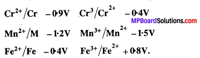 MP Board Class 12th Chemistry Solutions Chapter 8 d एवं f-ब्लॉक के तत्त्व - 14