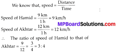 MP Board Class 6th Maths Solutions Chapter 12 Ratio and Proportion Ex 12.1 2