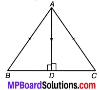 MP Board Class 9th Maths Solutions Chapter 7 त्रिभुज Ex 7.3 2