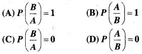 MP Board Class 12th Maths Book Solutions Chapter 13 प्रायिकता विविध प्रश्नावली img 25