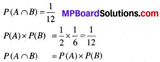 MP Board Class 12th Maths Book Solutions Chapter 13 प्रायिकता Ex 13.2 img 2