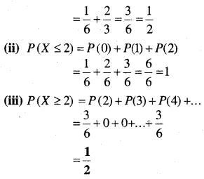 MP Board Class 12th Maths Book Solutions Chapter 13 प्रायिकता Ex 13.4 img 19