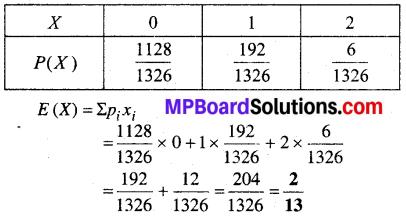 MP Board Class 12th Maths Book Solutions Chapter 13 प्रायिकता Ex 13.4 img 32