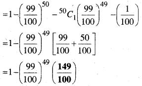MP Board Class 12th Maths Book Solutions Chapter 13 प्रायिकता Ex 13.5 img 9