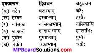 MP Board Class 6th Sanskrit Solutions विविधप्रश्नावलिः 1 Q 7