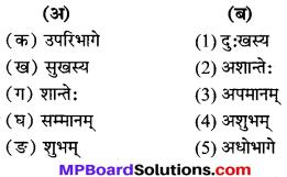MP Board Class 7th Sanskrit Solutions विविधप्रश्नावलिः 2 img 3
