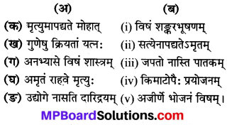 MP Board Class 8th Sanskrit Solutions Chapter 4 नीतिश्लोकाः 1