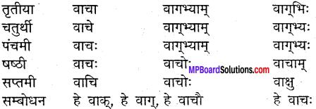 MP Board Class 9th Sanskrit व्याकरण शब्द रूप img-16
