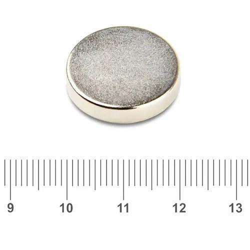 20 x 4mm Round Neodymium Iron Boron Magnet N52 Ni