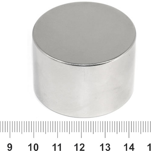 45mm x 30mm Disc Super Strong Neo Magnet N45 Ni