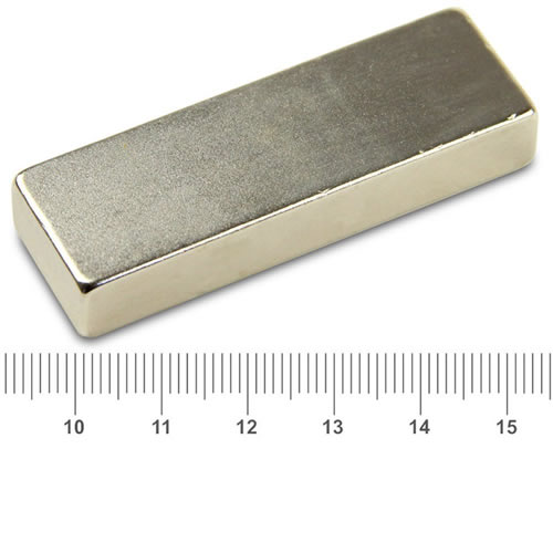 60 x 20 x 10mm Super Strong Motor NdFeB Magnet N50 Ni