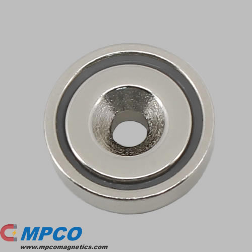 Magnetic Pot Round Base Magnet
