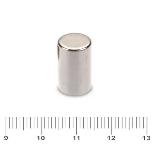 10 x 15mm NdFeB Cylinder Rare Earth Magnet N45 Ni