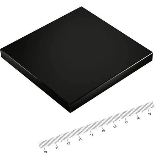 100 x 100 x 10mm Powerful Huge Neodymium Magnet N45 Epoxy