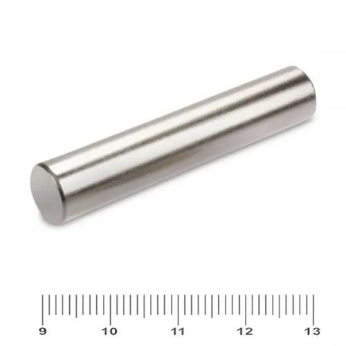 12 x 60mm Rare Earth Permanent Bar Magnet N38 Ni