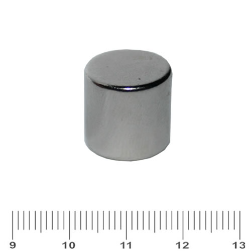 15 x 15mm Permanent Cylindrical Magnet Neo N48 Ni