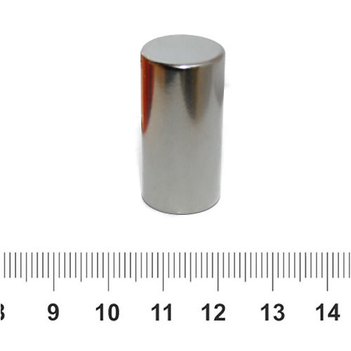 15 x 30mm Superior Permanent Magnet Cylindrical N45 Ni